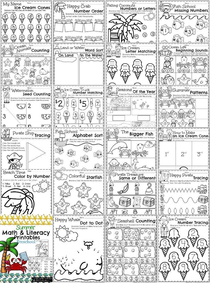 Summer Preschool Worksheets | Pinterest | Deutsch und Kind