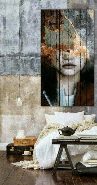 Industrial Interior Design Bedroom Pinwolf Engelen On Random Beauty  Pinterest  Bedrooms