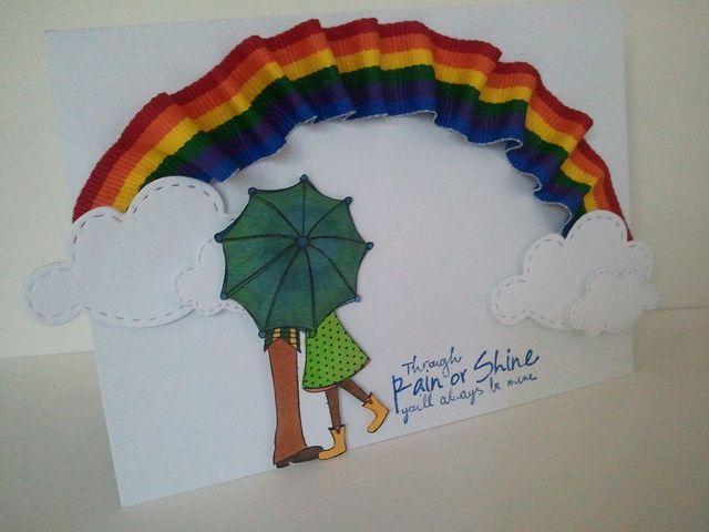 Love that rainbow.