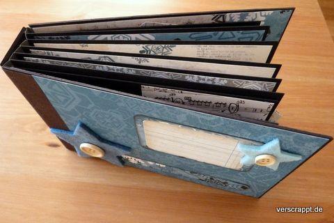 hidden hinge mini album tutorial 97 umschl ge ankleben. Black Bedroom Furniture Sets. Home Design Ideas