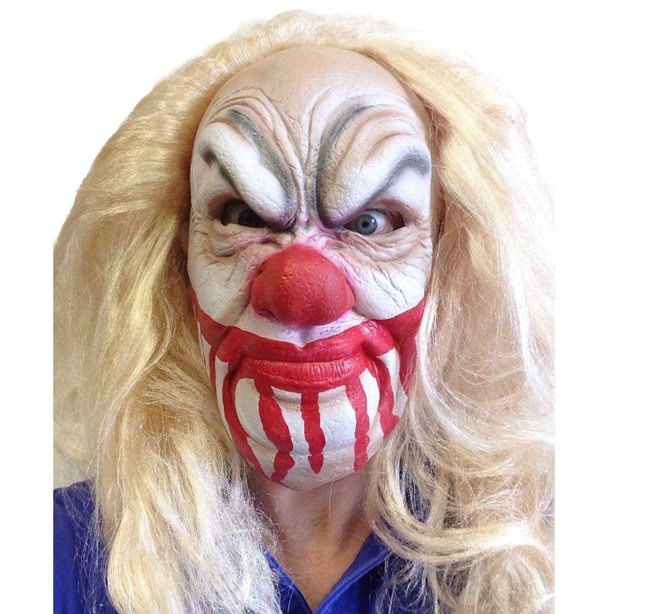 Slipknot Latex Mask Killer Clown Heavy Metal Band Movie FX Quality ...