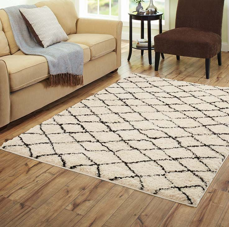 Better Homes And Gardens Moroccan Cream Woven Area Rug For The