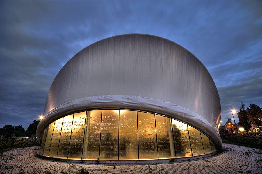 Futuristic Church in Maassluis The Netherlands.  Copyright Sylvia Blok (NL)