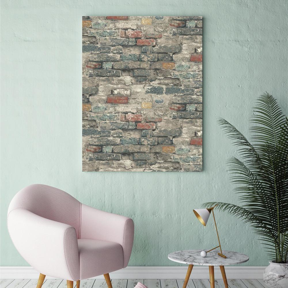 Brick Alley Peel Stick Wallpaper Peel And Stick Wallpaper Room Visualizer Wallpaper Roll