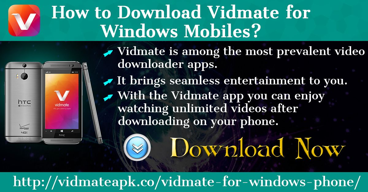 Vidmate APK Latest v 4.1809 Download for Android, iOS and