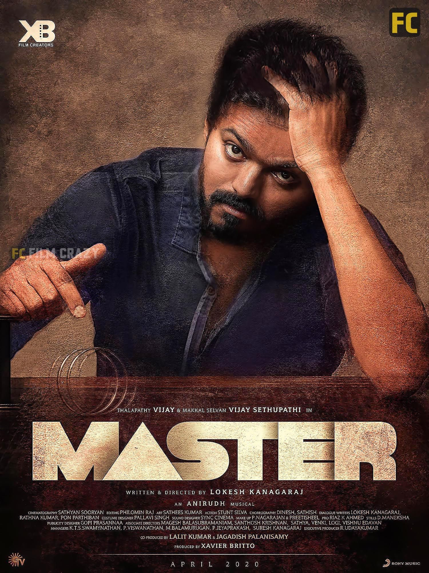 Thalapathy Vijay S Master Movie Stills In 2020 Master Vijay Actor Actor Photo