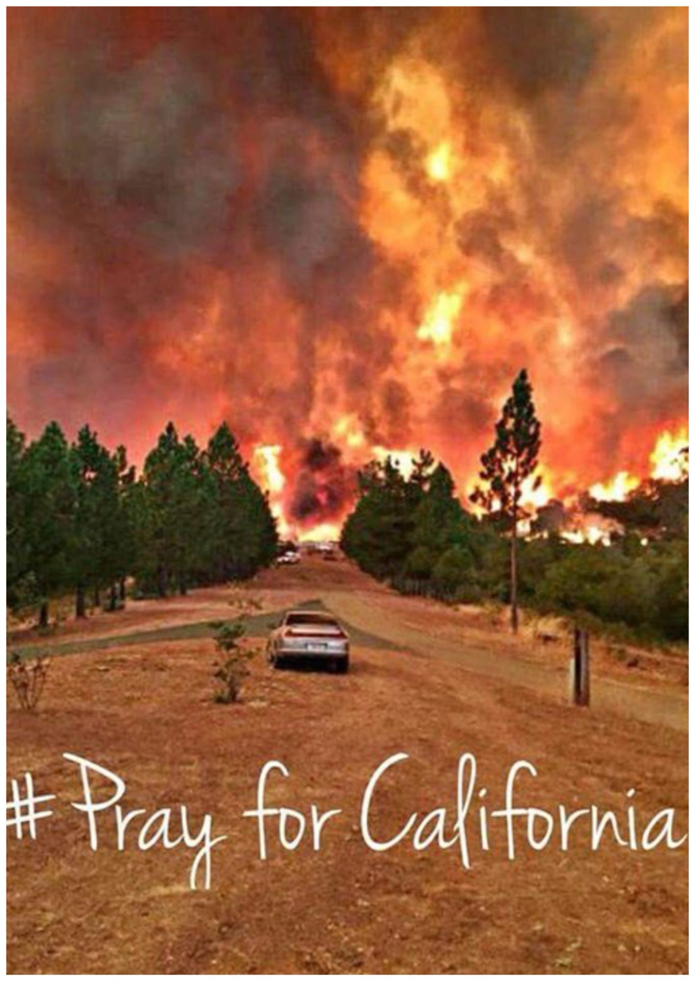 Prayer Warriors!!!! Pray for those displaced by this fire