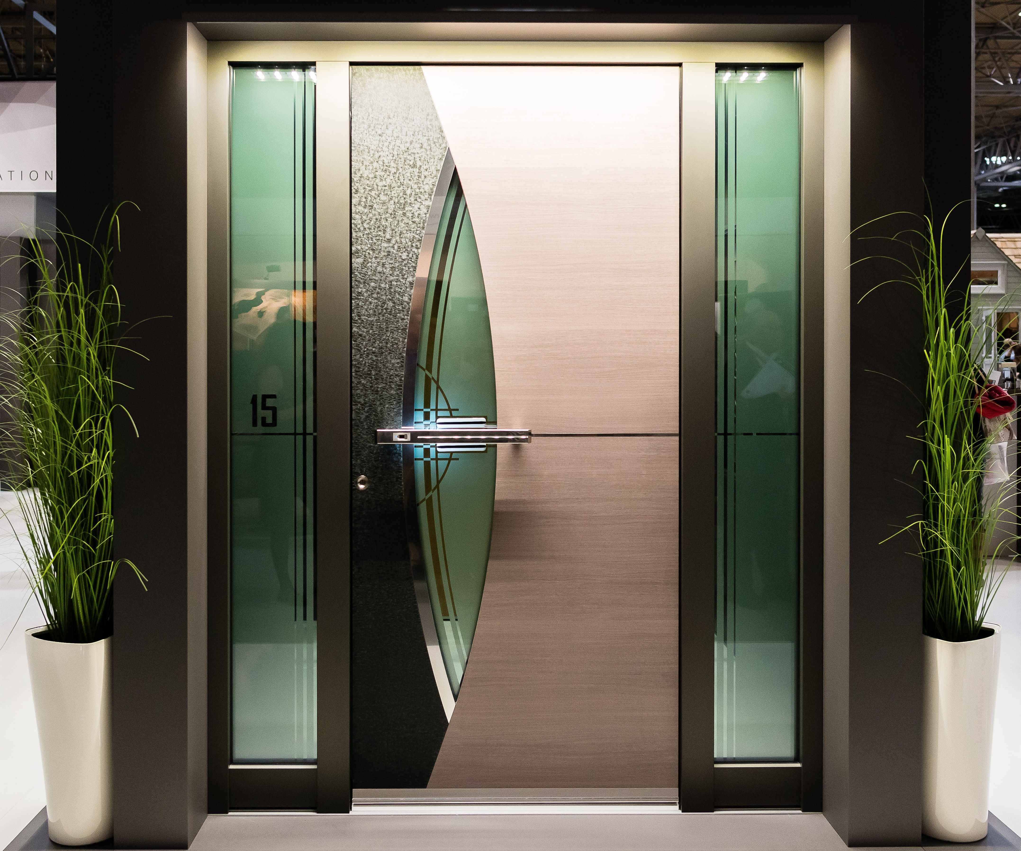 Grand Designs Live Birmingham Hosted A Range Of Door Companies To Help You Find A Solution Perfect For Your Home Grand Designs Live Grand Designs Glass Panels