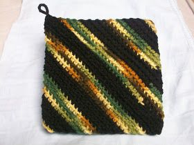My Crocheted World: Hotpads/Potholders