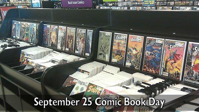 September 25 Comic Book Day