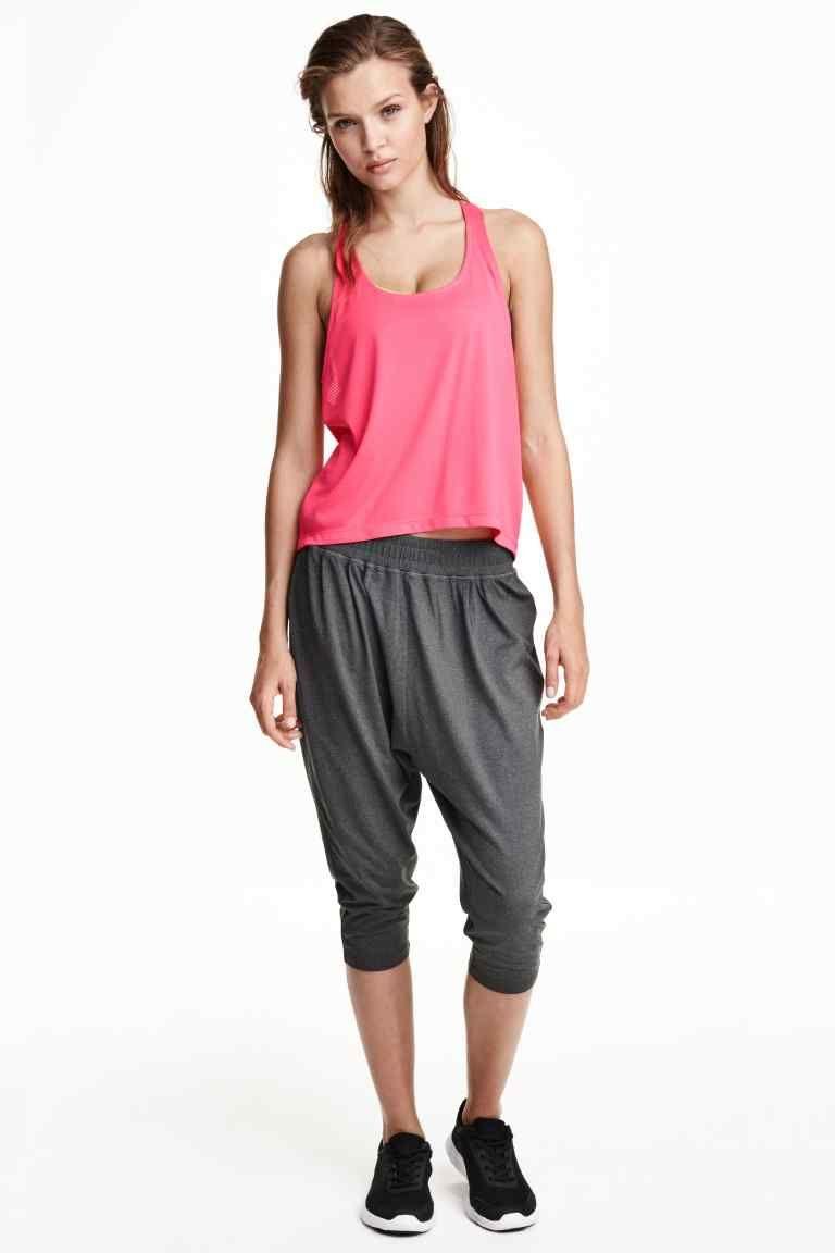Pantalon De Deporte 3 4 Moda Pantalones Deportivos Pantalones