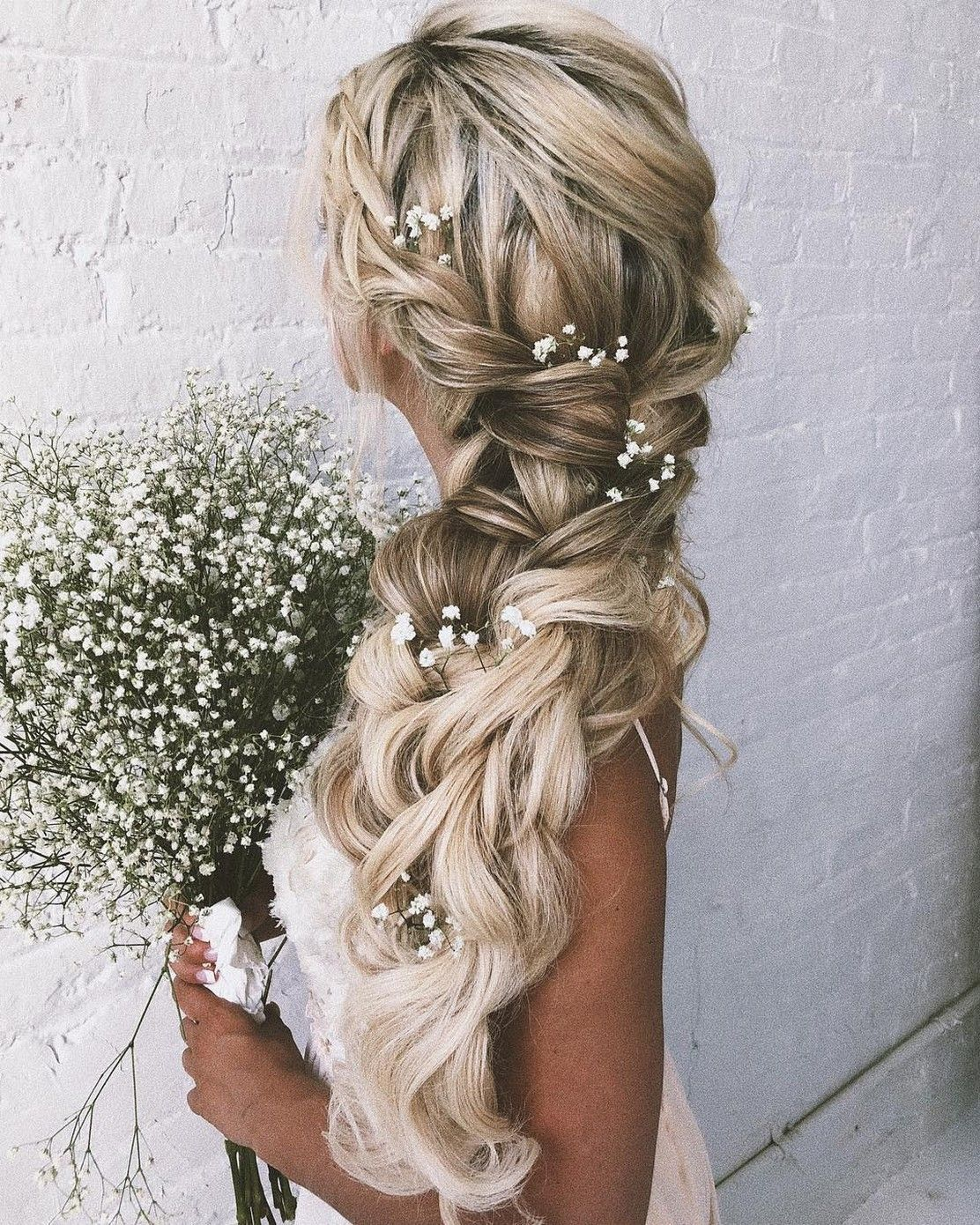 50 Styles Of Fishtail Braid To Inspire You Wedding Hairstyles Wedding Hair Inspiration Braided Hairstyles For Wedding Braids For Long Hair