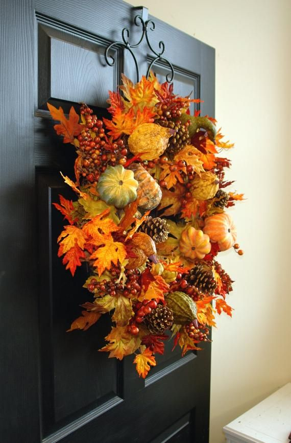 This item is unavailable   Wreaths for front door, Fall ...