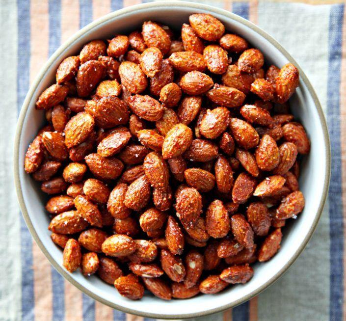 Warm Spiced Almonds