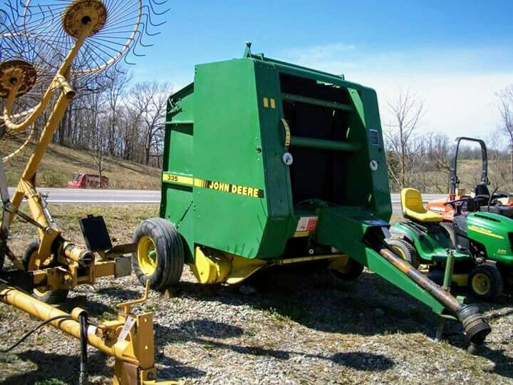 JOHN DEERE 335 Round Baler | Farming 3 | John deere tractors