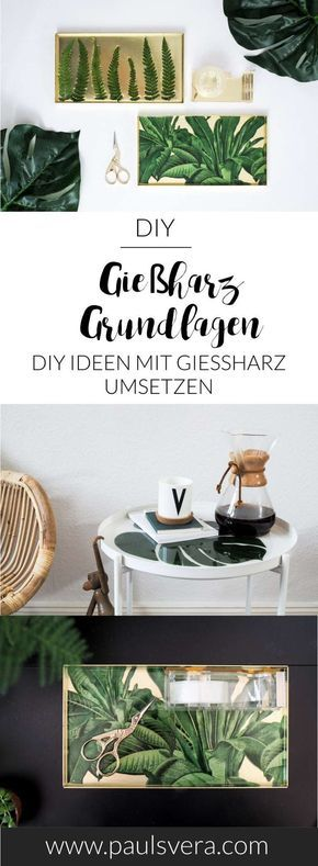 Photo of DIY-Basics: Gießharz Grund­techniken