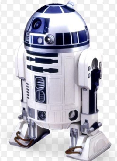 I often buy kitsch R2D2 stuff - I have no idea why , other than I find it fun and satisfying nerdy. R2 has a fun, cheeky personality despite not being able to speak. I think the whole character is great fun