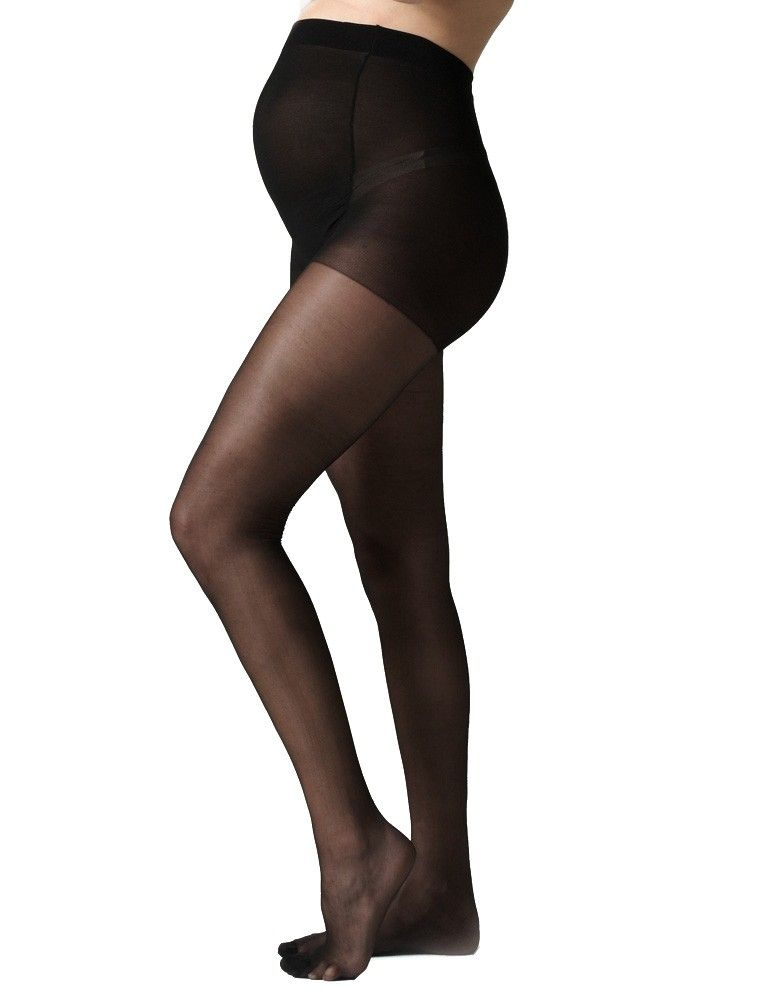 f42d9b04caefe 40 Denier Black Over-Bump Maternity Tights in 2019 | closet ...