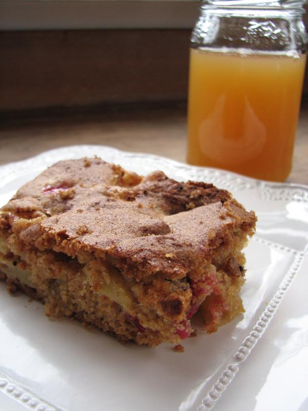 Apple Cranberry Bars via Food Filled Life