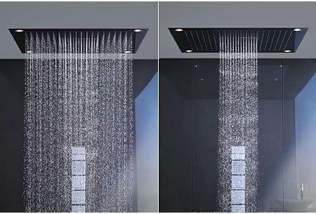 Hansgrohe Axor Rain Shower Shower Systems Pinterest Rain Shower Double