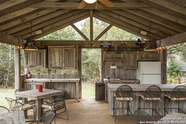 Outdoor Pavillion Outdoor Pavillion Outdoor Kitchen Rustic Patio