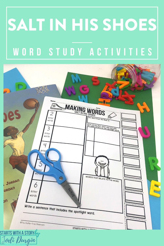 Salt In His Shoes Read Aloud Activities Third Grade Activities Read Aloud Activities Word Study Activities [ 1500 x 1000 Pixel ]