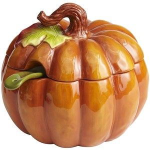 Pumpkin Harvest Dinnerware | Pier One Harvest Pumpkin Tureen with Ladle - Pier 1 Imports  sc 1 st  Pinterest & Pumpkin Harvest Dinnerware | Pier One Harvest Pumpkin Tureen with ...