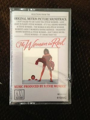 The Woman In Red Soundtrack Stevie Wonder Cassette New Sealed