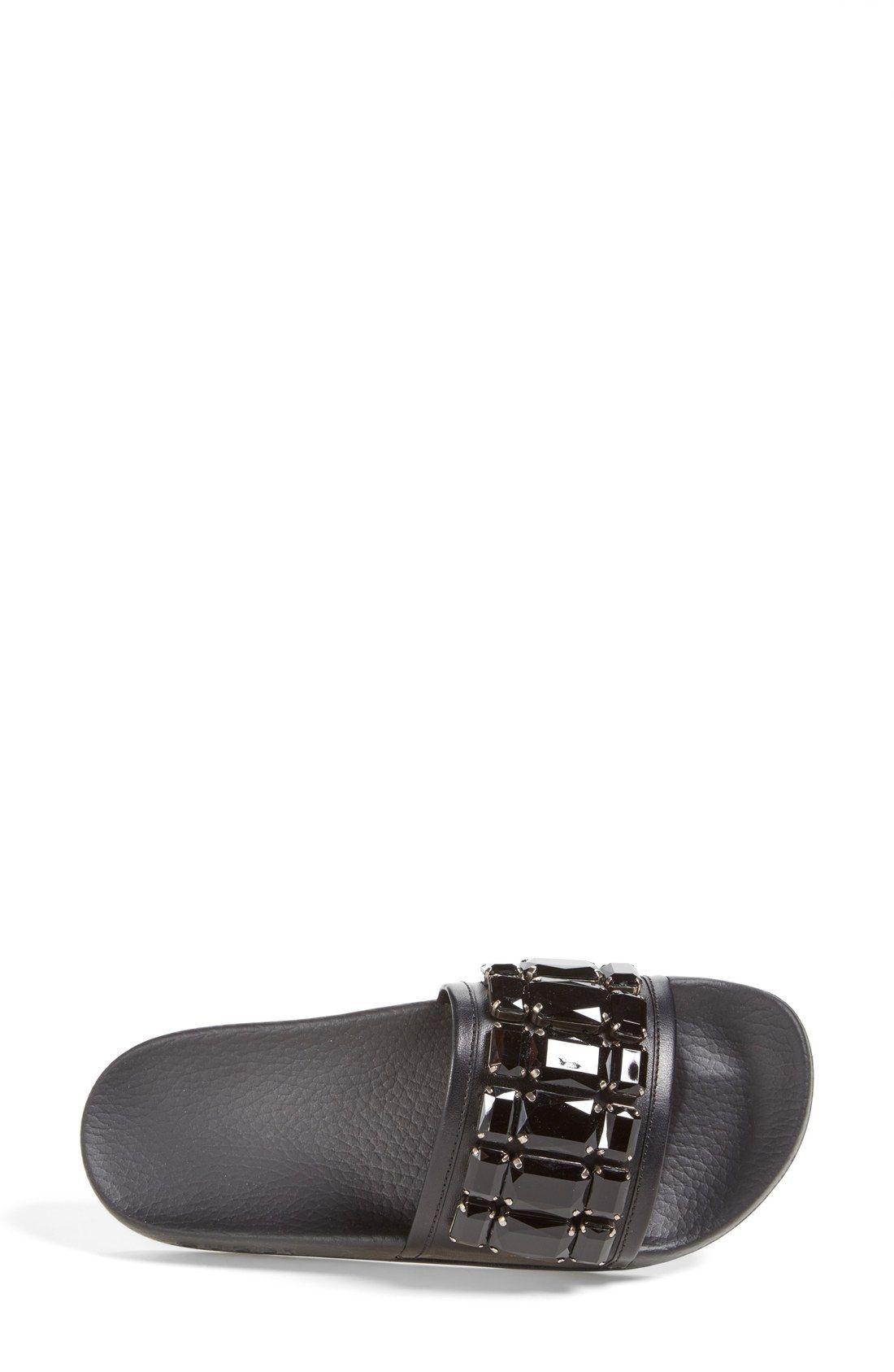 66c642538439 Gucci  Pursuit  Slide Sandal (Women)   Fits   Pinterest   Sandals ...
