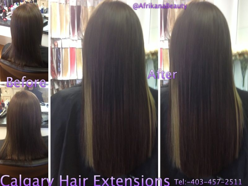 Beforeafter Micro Link Hair Extensions Hair Pinterest Micro