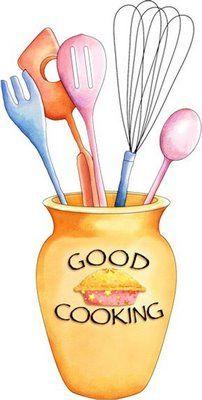 good cooking cookbook pinterest clip art decoupage and