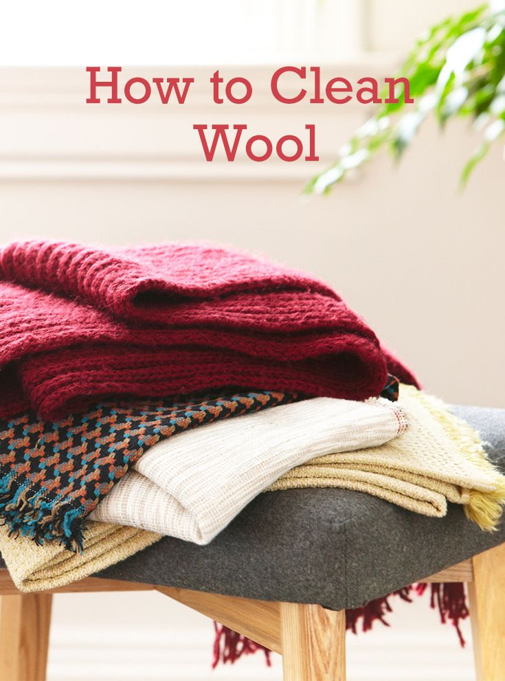 Find the easiest way to clean wool!