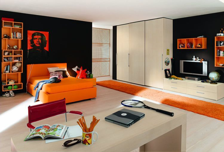 Modern Teenage Boys Room