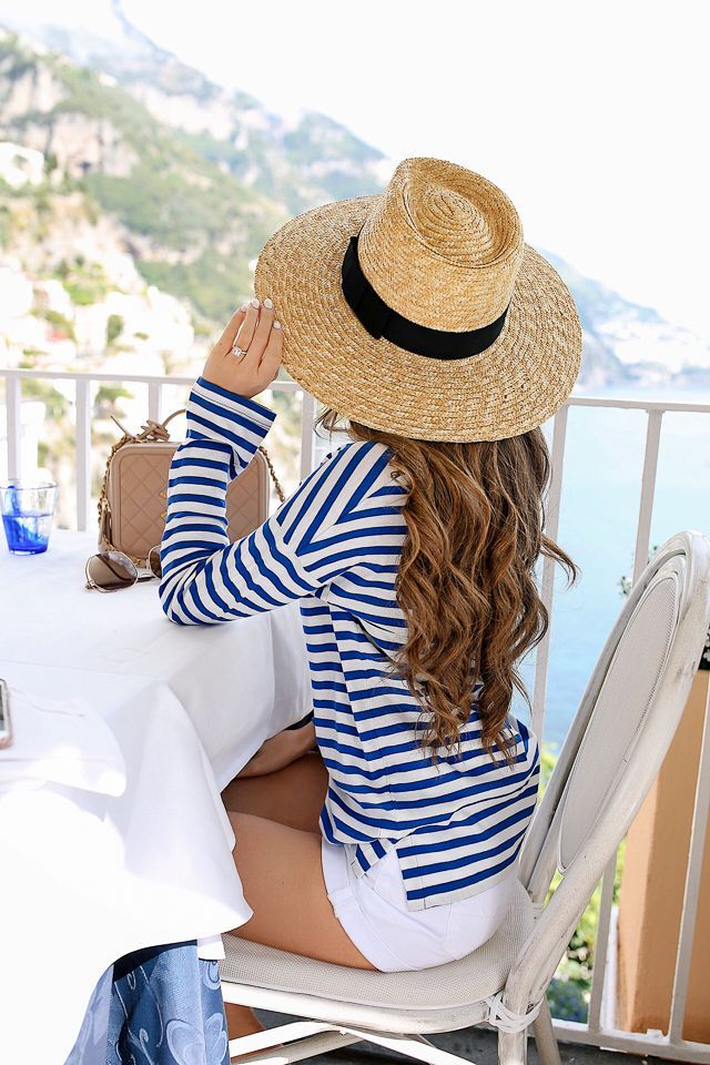 When in Italy, Wear Stripes (Southern Curls & Pearls