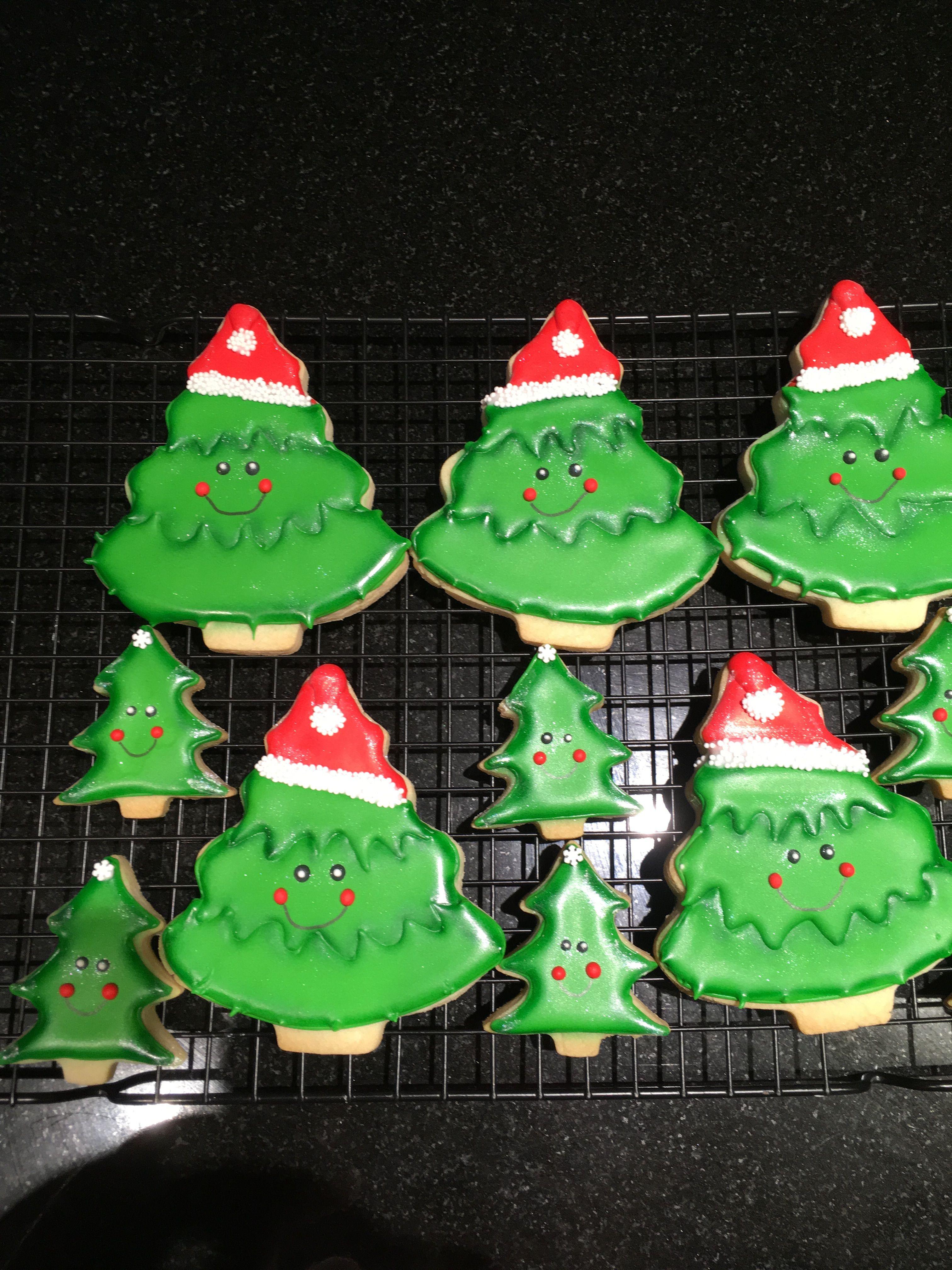 Christmas Tree Cookies Cookies Cakes