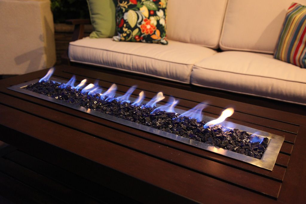 Diy Fire Pit Table With Images Fire Pit Table Indoor