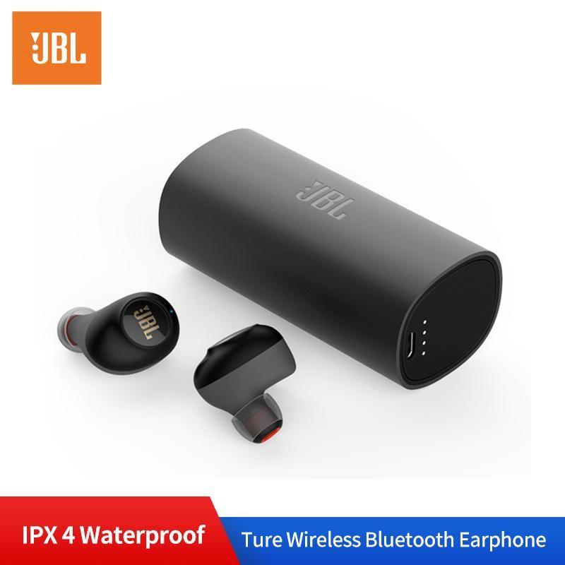 Auricolari Jbl C230tws Wireless Bluetooth V5 0 In Ear Con Microfono Completi Di Scatola Di Ricarica In Nero O Grigio En Jbl C230tws Wireless Earphones Bluet Auricolari Microfono Bluetooth