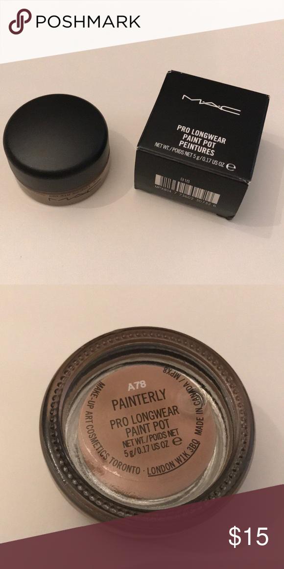 MAC Cosmetics Pro Longwear Paint Pot Painterly Painted