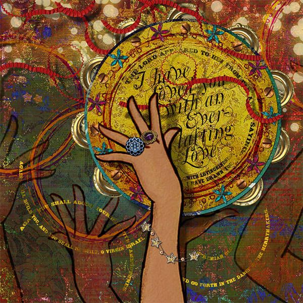 Dance of the Merrymakers Phenomenal Woman by Heather Sullivan aka sparklyduck75 for The Gypsy Diaries Project