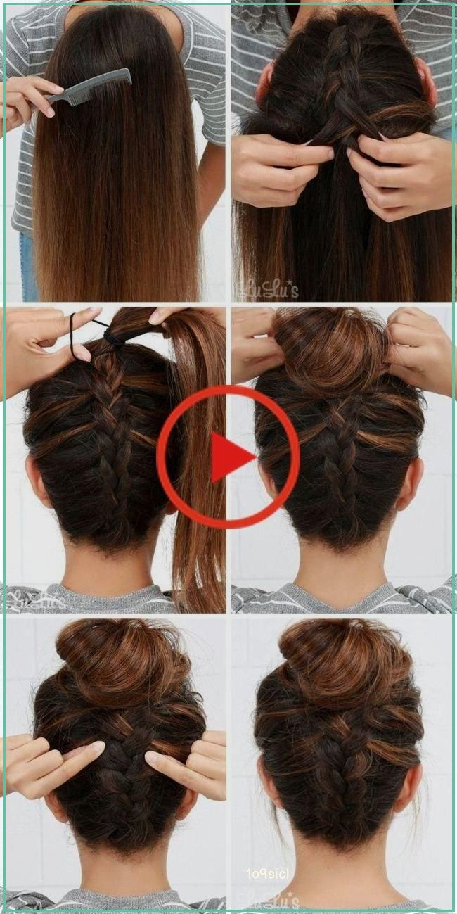 Adjustable Crystal Double Heart Bow Bilezik In 2020 Easy Bun Hairstyles Easy Updo Hairstyles Step By Step Hairstyles
