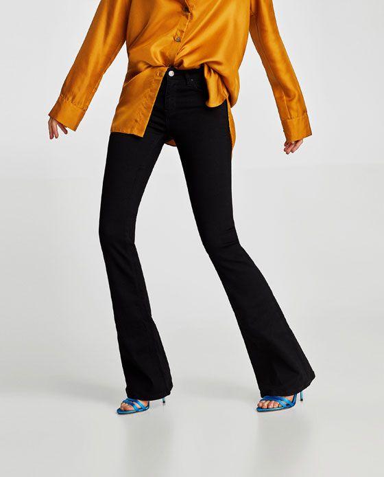 6941e3cdfe Jeans zw premium skinny flare revolve   Fashion Finds   Jeans, Knee ...