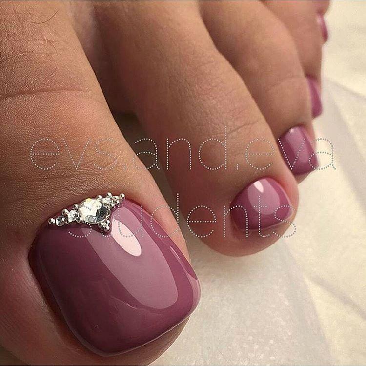 Nail Designs Toenails Gel Toe Nails Pink Feet Design