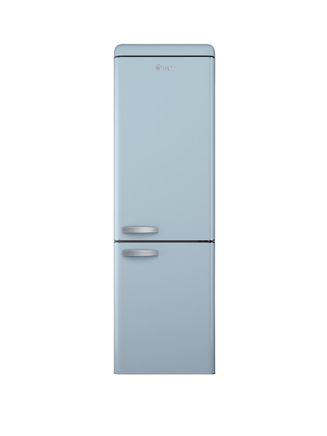 SR11020BLN 60cm Frost Free Retro Fridge Freezer - Blue | Retro ...