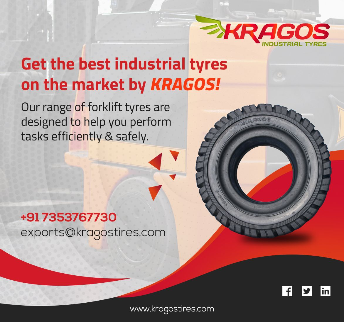 Kragos Forklift Solid Tires What You Need To Know Designed To