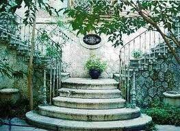 Garten Jugendstil jugendstil treppe zum garten jugendstil nouveau