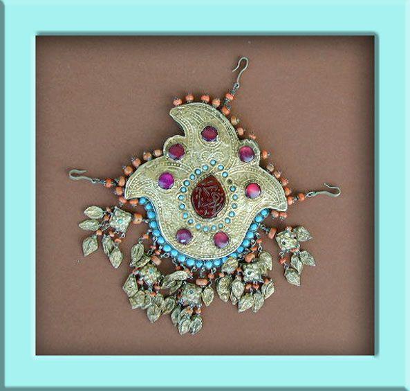 Uzbekistan - headdress ornament