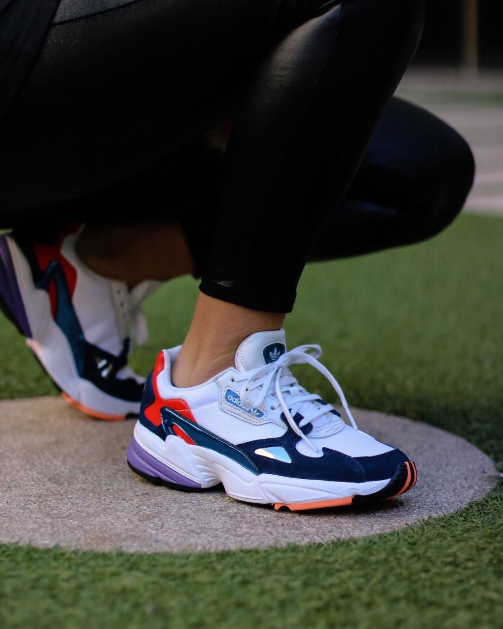 Adidas Falcon W | Dad shoes, Sneakers, Sneakers fashion