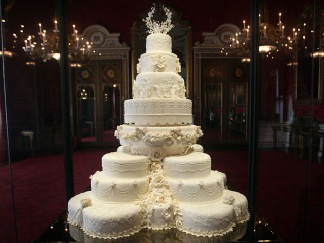 Gâteau De Mariage De William Et Kate Wedding Cake Gateau