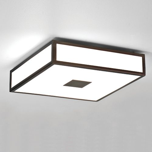 Astro Mashiko Plus 300 Bronze Bathroom Ceiling Light Modern Square