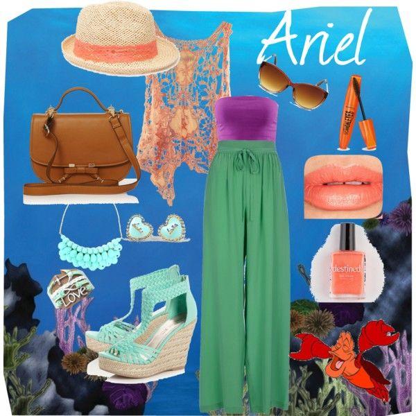 Ariel By Samantagangemi On Polyvore